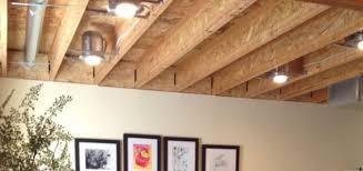 unfinished basement ceiling ideas. Awesome Unfinished Basement Ceiling Ideas Photo Design