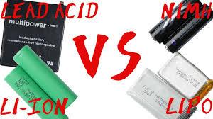 Ni-Cd vs Ni-Mh Battery