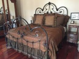 King Iron Bed | eBay