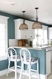 Blue Kitchen Designs Impressive 48 Calming Paint Colors Kitchen Paint Colors Pinterest House