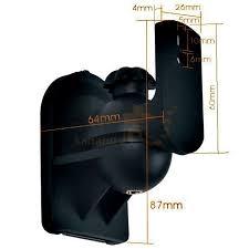 2 pcs pack lot universal adjule surround sound wall speaker mount bracket