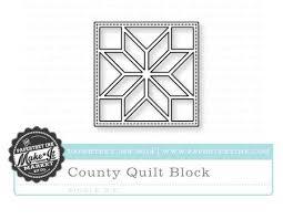 Kit Die & Stamps Sale – Papertrey Ink Blog & County Fair Quilt Block die Adamdwight.com