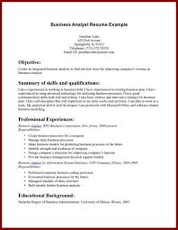 Business Analyst Resume Objective Sample 24 Career Objective Examples For Insurance Company Sendletters Info 20
