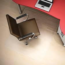 hard floor chair mat rectangular 46 x 60. deflect o clear polycarbonate chair mat hard floor rectangular 46 x 60