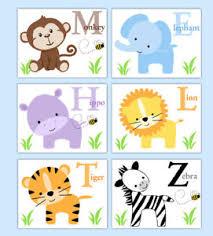 image is loading safari animal prints wall art baby boy jungle  on safari animal wall art with safari animal prints wall art baby boy jungle nursery alphabet abc