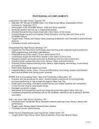 Music Teacher Resume Sample 7 Music Teacher Resume Letter Setup