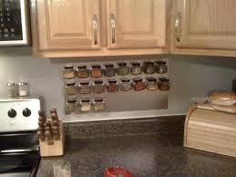 Kitchen Cabinet Door Magnets Diy Magnetic Spice Rack 4 Steps With Pictures