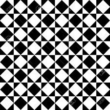 Checkered Design Monochrome Diagonal Checkered Pattern Royalty Free Cliparts