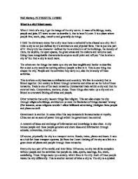 what is a city short essay university architecture building  page 1 zoom in
