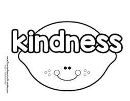 Kindness Coloring Pages Printable Free Coloring Page