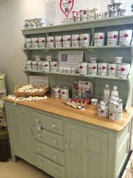 Ercol Dresser Painted In Frenchic Wedgewood Green Chalk Paint - Kitchens by wedgewood
