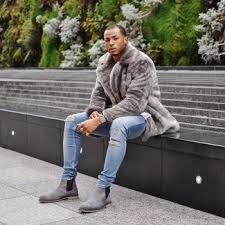 Can you wear chelsea boots with jeans? Grey Chelsea Boots Winter Outfits For Men In Their 30s 3 Ideas Outfits Lookastic