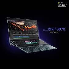 "Amazon.com: ASUS Portátil ZenBook Pro Duo 15 OLED UX582, pantalla táctil  OLED 4K UHD de 15,6"", Intel Core i9-10980HK, 32GB RAM, 1TB SSD, GeForce RTX  3070, ScreenPad Plus, Windows 10 Pro, Celestial"