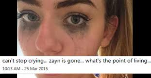24 Crazy Over-the-Top Reactions to Zayn Malik Leaving One ... via Relatably.com