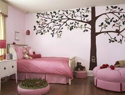 Paint For Girls Bedrooms Bedroom Likable Wall Painting Design For Girl Bedroom With Brown
