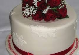 Beautiful Wedding Anniversary Cake With Name 10 Happy Marriage