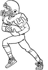 Small Picture Free Coloring Pages Of Football Players To Color 7469