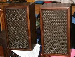 vintage altec speakers. vintage sansui sp-100 stereo speakers altec