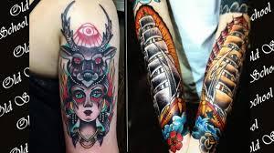 татуировки в стиле олд скул значение фото эскизы Old School