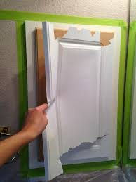 painting laminated cabinets