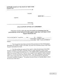 Child Maintenance Agreement Letter Template Samples Letter Cover