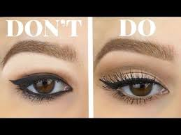 hooded eyes do s and don ts eyeshadow eyeliner for bigger eyes makeu