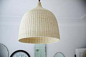 coastal vintage style rattan nautical beach pendant light sea glass colored lights another day cottage