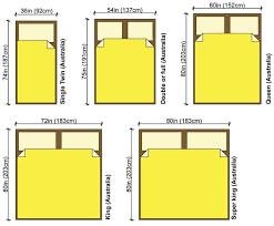 King Size Bed Measurements Bedroom Furniture