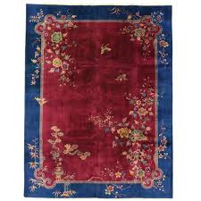 early 20th century antique chinese art deco rug for