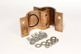 copper pipe leak repair. Contemporary Leak 25 Inch Copper Service Saddle To Pipe Leak Repair