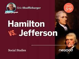 Jefferson Vs Hamilton Venn Diagram My Favorite Nearpod Lesson Hamilton Vs Jefferson Nearpod Blog