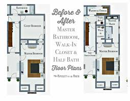 Master Bathroom Floor Plans With Walk In Closet Make The And Remodel Sense For Design Inspiration