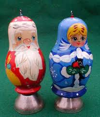 Santa / Matryoshka Christmas Ornament | Russian Legacy