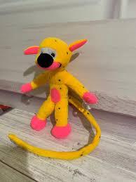 Boneka Marsupilami 28 cm / kado ulang tahun / karakter / binatang/ dekiddos