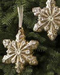 ... Silver and Gold Glass Ornament Set Alt ...