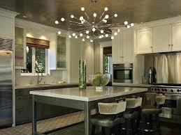 decoration rustic kitchen island chandeliers construction contemporary design with sputnik chandelier over industrial