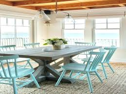 beach house dining table beach house dining table for contemporary dining room with beach house round