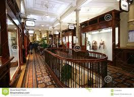 Wellington Interior Design Center Interior Of Old Shopping Bank Arcade Wellington New