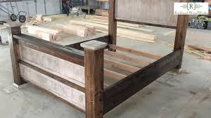 farmhouse bed frame. Exellent Farmhouse Farmhouse Bed Frame Construction To