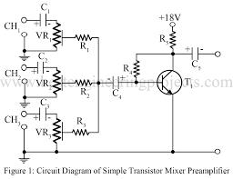 mixer circuit diagram the wiring diagram audio mixer circuit best engineering projects circuit diagram