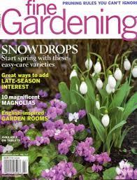 fine gardening magazine.  Gardening The Cover Of The February 2016 Issue Fine Gardening And Magazine 2