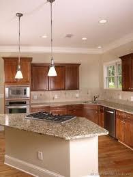 medium oak kitchen cabinets. Traditional Medium Wood-Cherry Kitchen Cabinets #06 (Kitchen-Design-Ideas. Oak