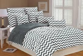 wonderful black and white chevron comforter beauty grey bedding sets
