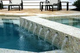 marvelous glass pool tile glass tiled wall swimming pool glass tile installation