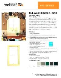 Andersen Color Chart Andersen Double Hung Window Size Chart Lavozfm Com Co
