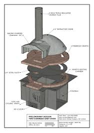 Wood Oven Design Double Chamber Pizza Oven Google Search Brick Oven