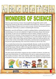 wonder of science essay