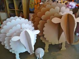 made by others come in and see our new cardboard animals the contemporary ideas