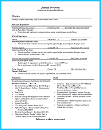 Resume Buzzwords Best Criminal Justice Resume Collection from Professionals 88