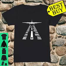 This alphabet is very important to all pilots as it allows. Flying B17 Flying Fortress Pilot Landing Phonetic Alphabet Shirt